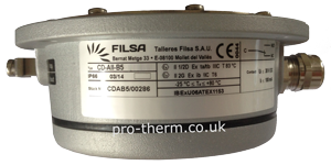 Filsa CD B1 ATEX EX rated side